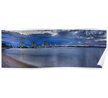 Maroochydore Panorama-HDR-3200 Poster