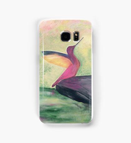 Pretty bird phone case Samsung Galaxy Case/Skin