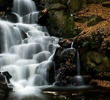 Virginia Waters cascades IV by simonj