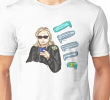 Texts From Hillary Unisex T-Shirt