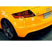 My Other Car is an Audi Photographic Print