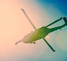 Crossed Chopper by Ross Jardine