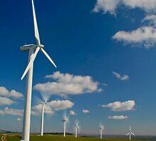 Wind Turbines by Anthony Thomas