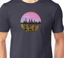 Golden Skyline Perth Unisex T-Shirt