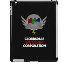 Cloudsdale Weather Corporation iPad Case/Skin