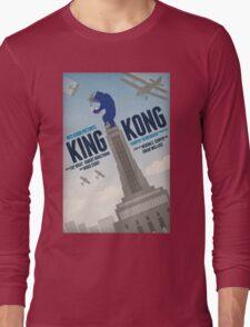 King Kong 1933 alternative movie poster Long Sleeve T-Shirt