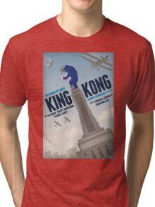 King Kong 1933 alternative movie poster Tri-blend T-Shirt