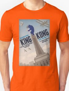 King Kong 1933 alternative movie poster Unisex T-Shirt
