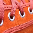My orange shoe by Etienne RUGGERI Artwork