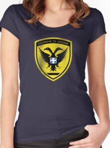 Hellenic (Greek) Army Seal Women's Fitted Scoop T-Shirt
