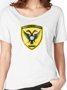 Hellenic (Greek) Army Seal Women's Relaxed Fit T-Shirt