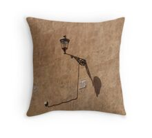 bronzed wall Throw Pillow