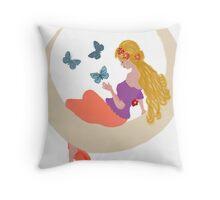moonlight childrens dreams Throw Pillow