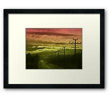 The Road to Cloud Nine Framed Print