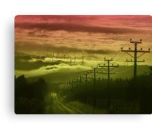 The Road to Cloud Nine Canvas Print