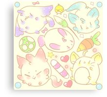 Original: Pets and Toys  Canvas Print