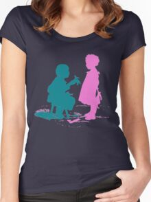 Paper dolls Women's Fitted Scoop T-Shirt