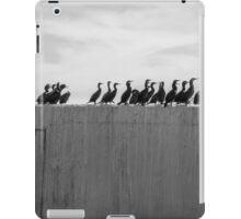 Line of Cormorants iPad Case/Skin