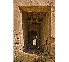 Passage Way ~ Abandoned Finca Photographic Print