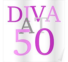 Diva At 50 Poster
