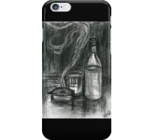 Cigarettes and Alcohol iPhone Case/Skin