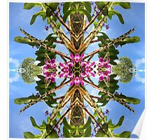 Tropical Kaleidoscapes 8 Poster