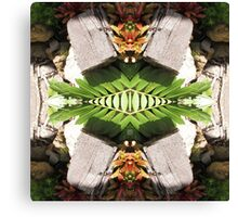 Tropical Kaleidoscapes 9 Canvas Print