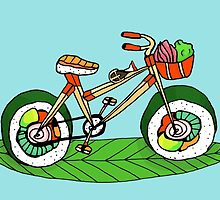 Sushicycle by Annie Riker