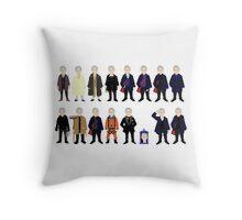 The Doctor's Wardrobe - Twelve Throw Pillow