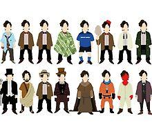 The Doctor's Wardrobe - Eleven by SashDoesDoodles