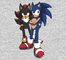 sonic and shadow by deivid97621