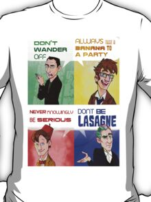 The Doctor's Rules T-Shirt