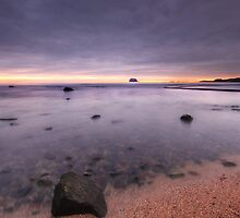 North Berwick West Bay - Scotland #1 by bluefinart