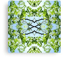 Tropical Kaleidoscapes 11 Canvas Print