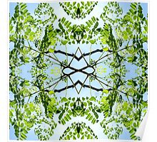 Tropical Kaleidoscapes 11 Poster