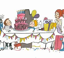 Birthdaycard by Sanne Thijs