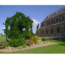 Church Garden Photographic Print