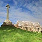 Kirkmadrine Church and Cross by Maria Gaellman