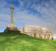 Kirkmadrine Church and Cross by Maria Gaellman