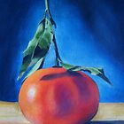 'Clementine on Blue' by Tracey Boulton