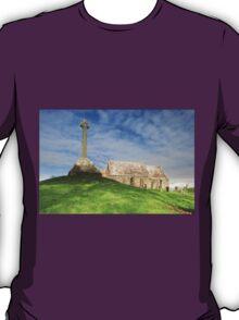 Kirkmadrine Church and Cross T-Shirt