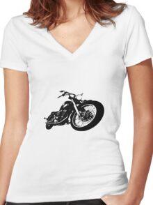Cruiser Light Women's Fitted V-Neck T-Shirt