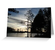 Mercurial Sunset - Bear Creek Greeting Card