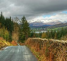 Road To The Lakes by Jamie  Green