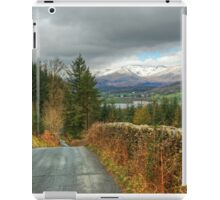 Road To The Lakes iPad Case/Skin