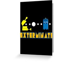 PAC DALEK Greeting Card