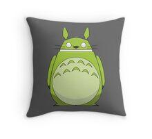 Totoroid Throw Pillow