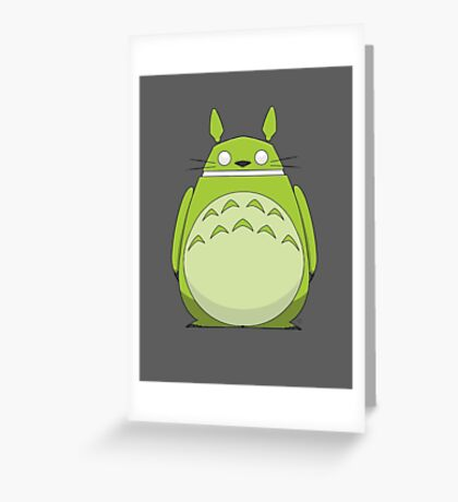 Totoroid Greeting Card