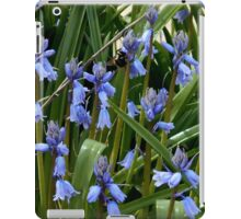 A Bee Among The Flowers iPad Case/Skin