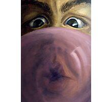 Blowing Bubbles Photographic Print